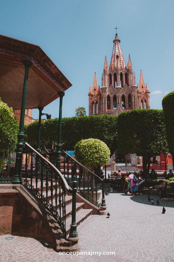 El Jardin, main garden San Miguel de Allende