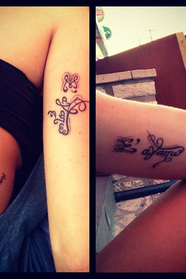 I Love You Tattoo Greek Kate Allen