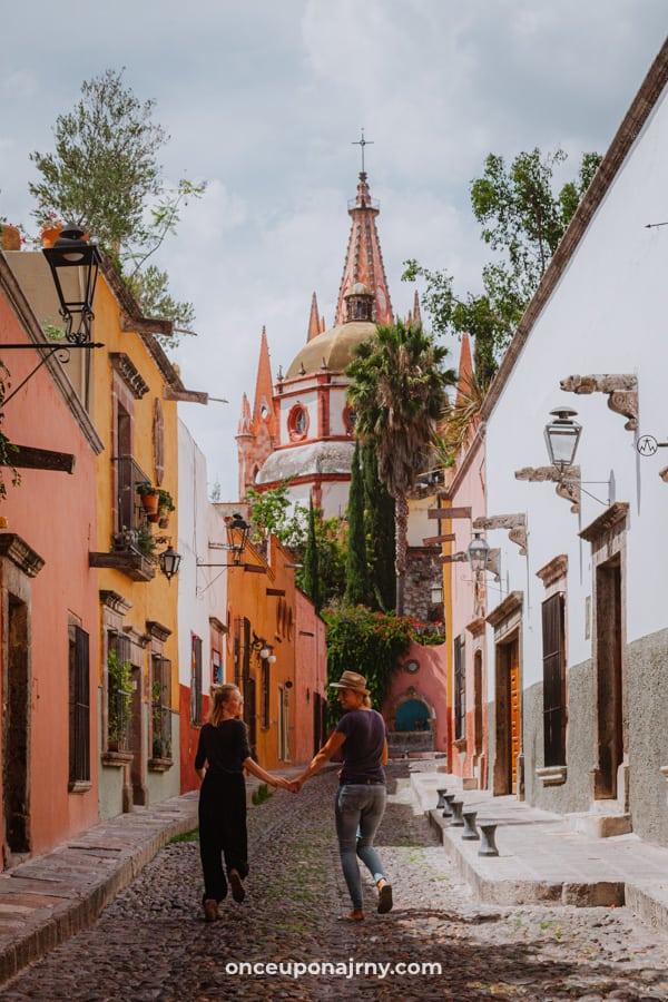 La calle de Aldama San Miguel de Allende