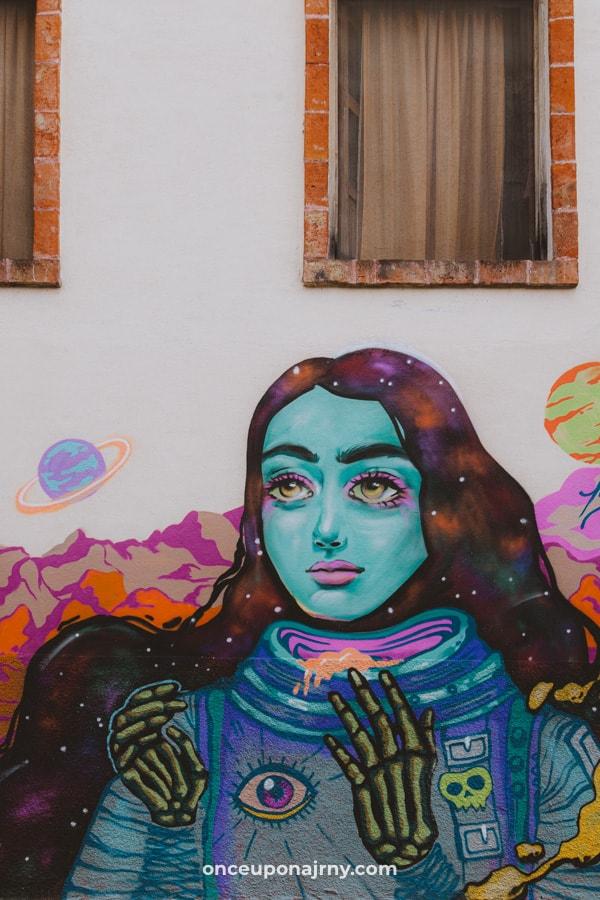 Street Art San Miguel de Allende Colonia Guadalupe neighborhood