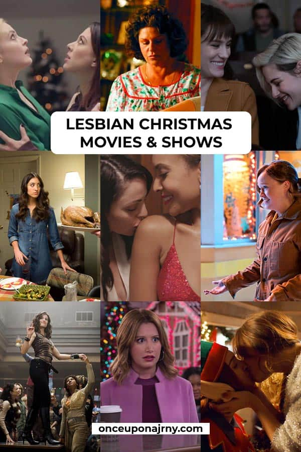 lesbian Christmas movies and shows