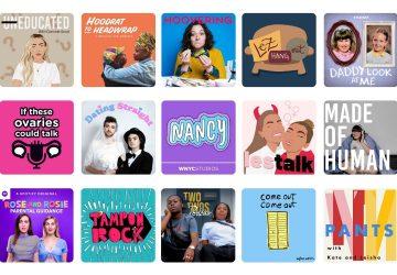 Best lesbian podcast inspo