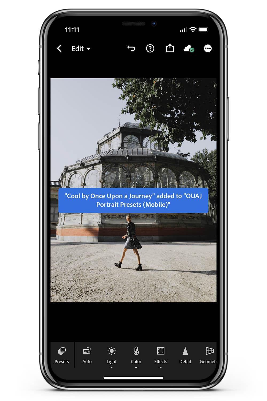 Lightroom Mobile free preset