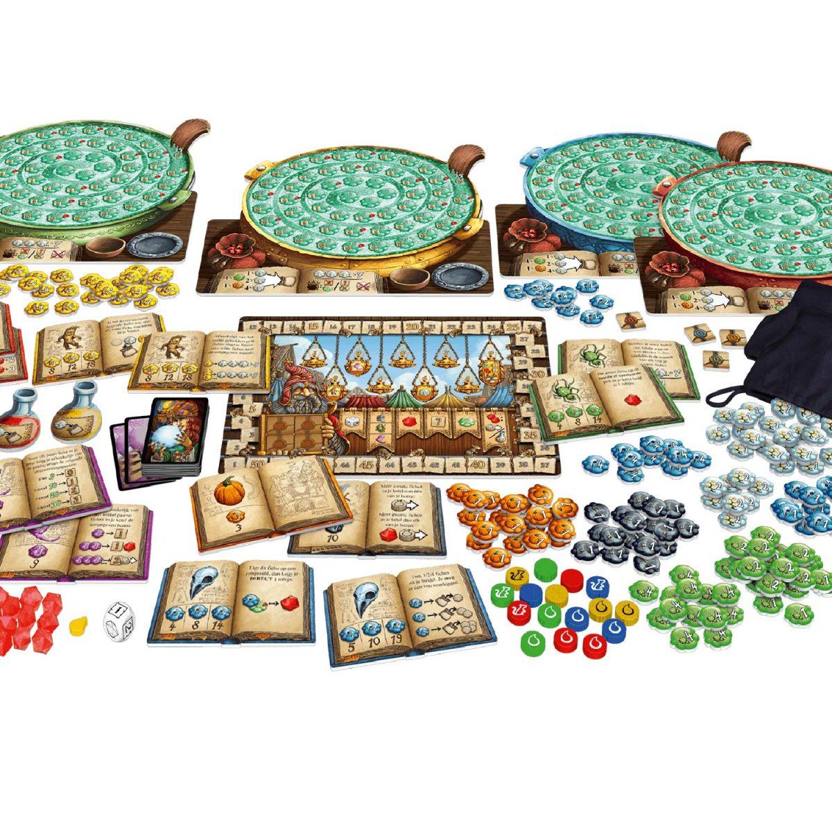De kwakzalvers van kakelenburg spel bordspel