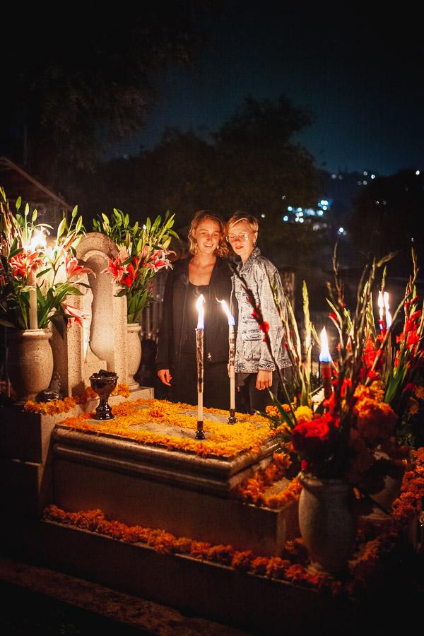 Dia de muertos lesbian mexico vacation