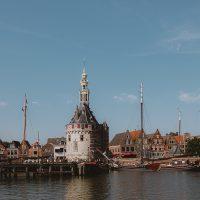 Historische haven Hoorn hoofdtoren