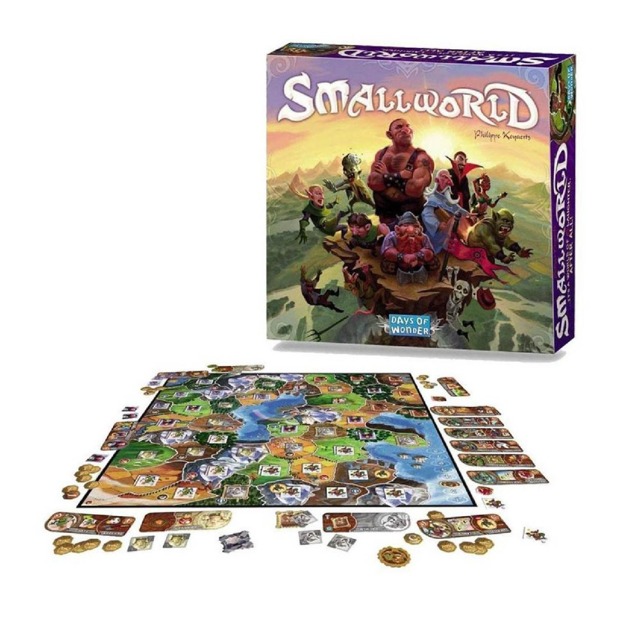 Small world bordspel