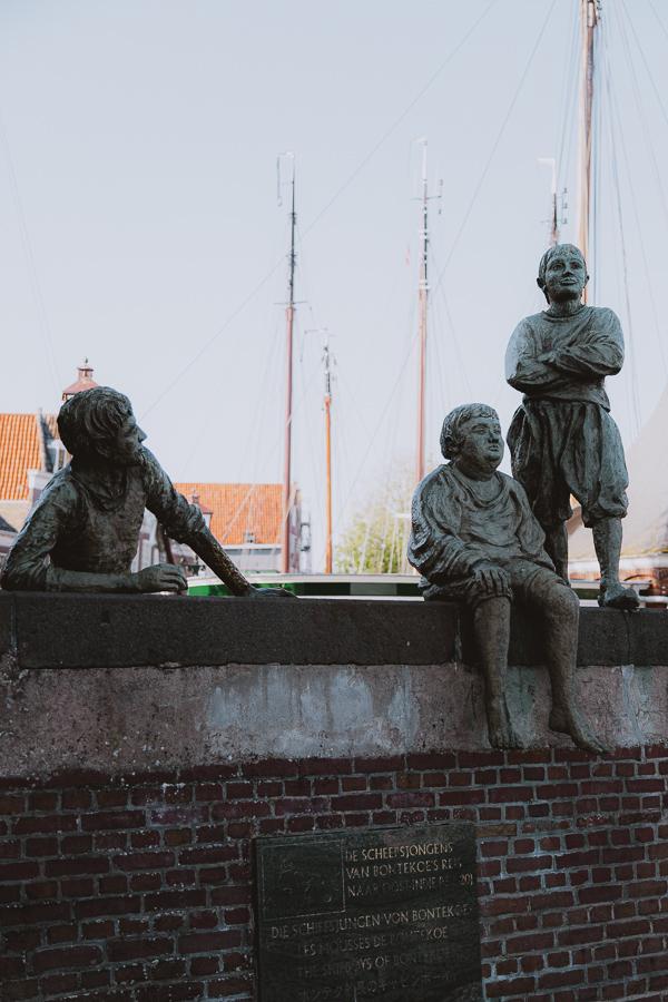 scheepsjongens van Bontekoe Historische haven Hoorn