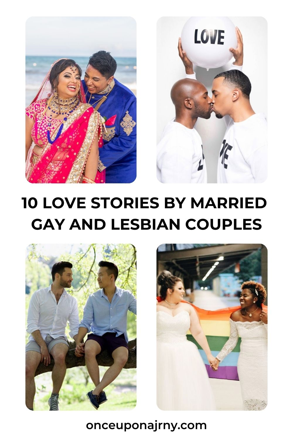 love stories by married gay and lesbian couples
