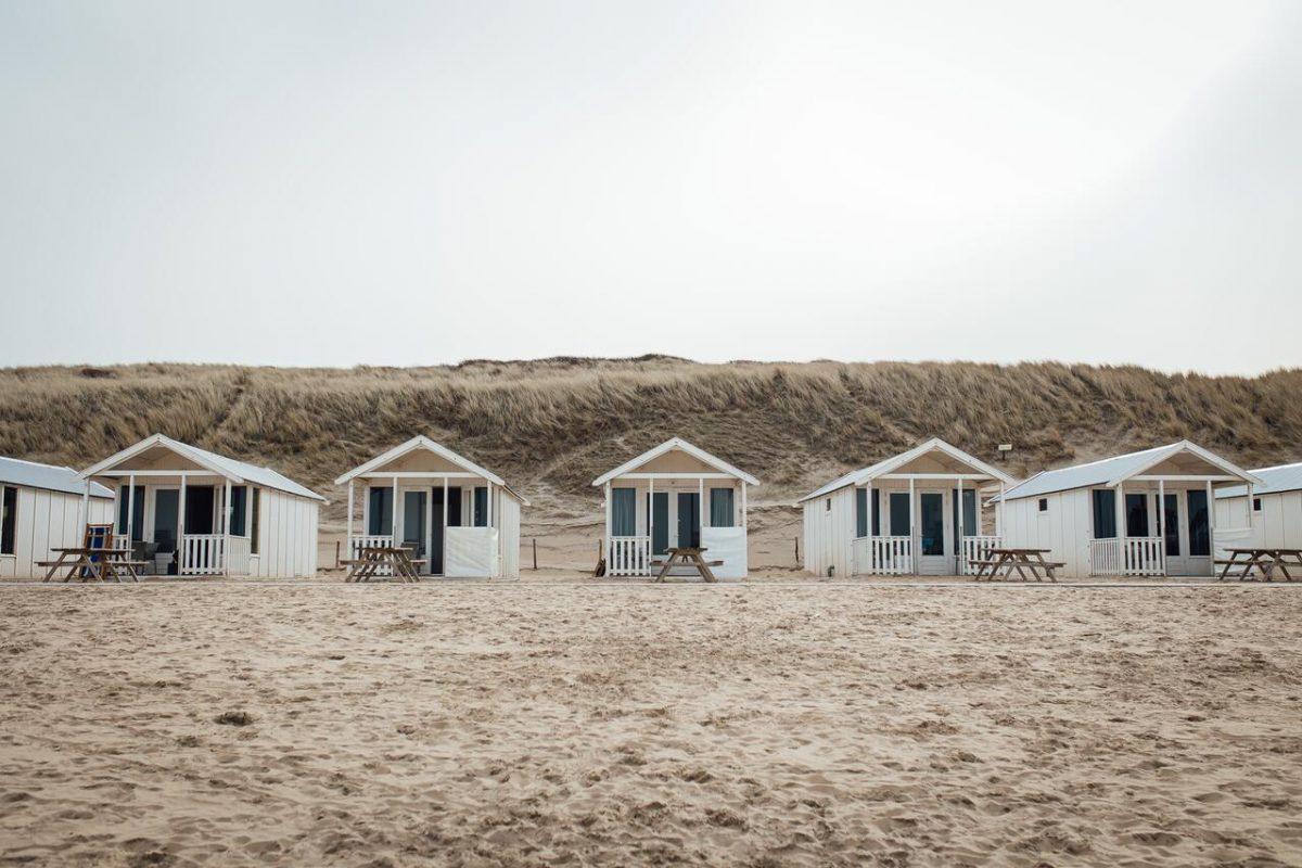 overnachten strandhuisje willy zuid katwijk aan zee
