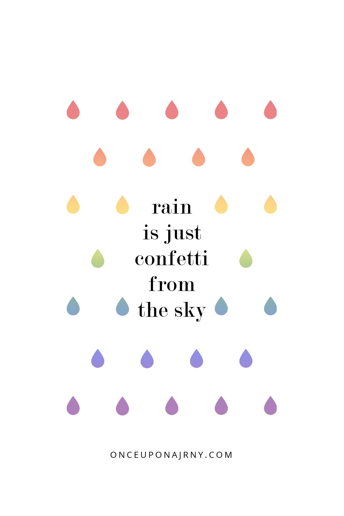 Rain is just confetti from the sky lgbtq quotes