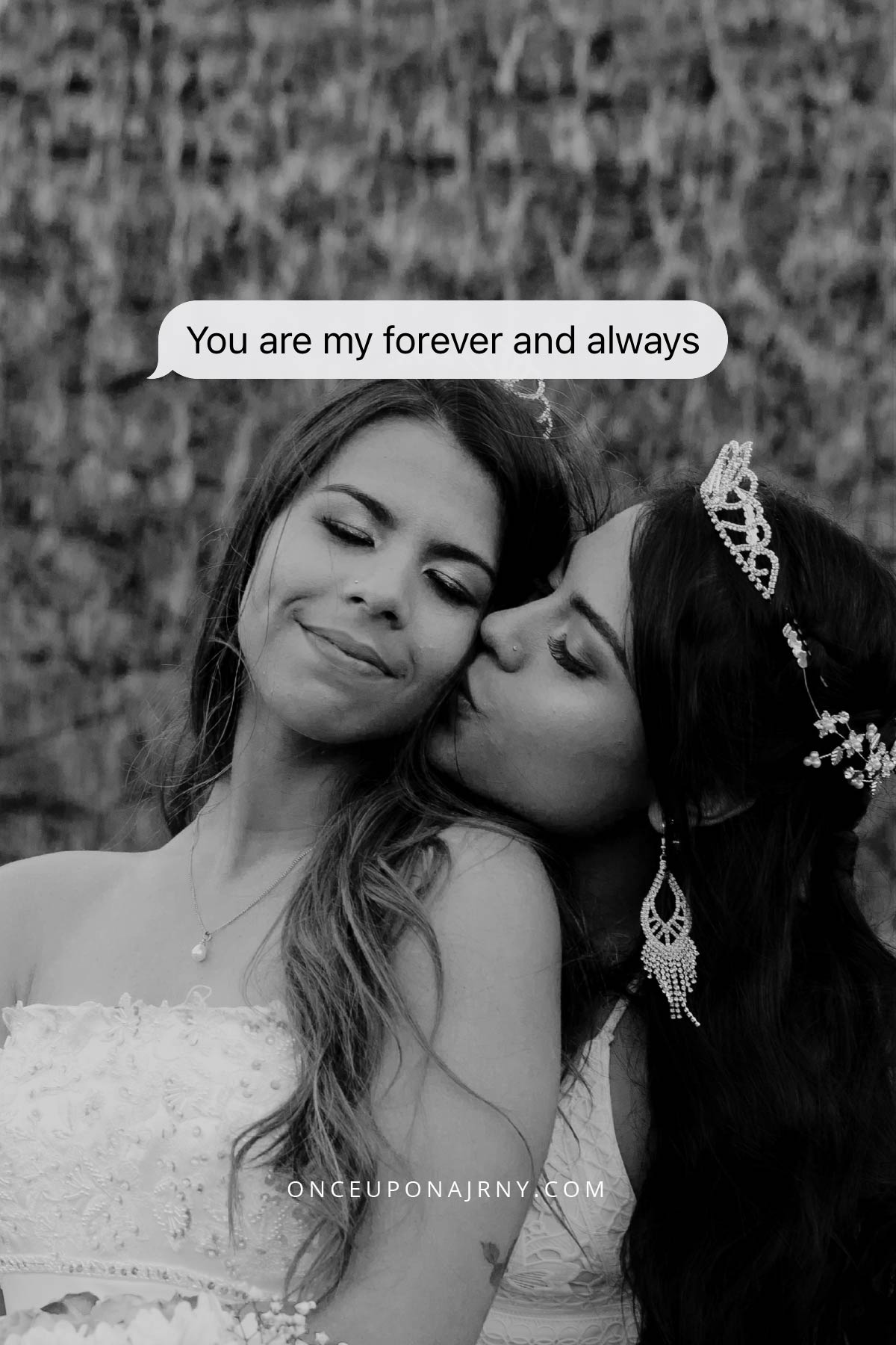 You are my forever and always lesbian saying