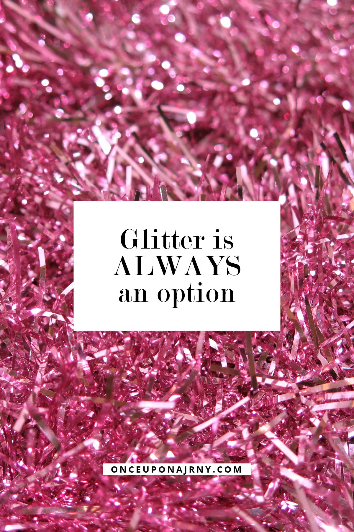 glitter is always an option queer quotes