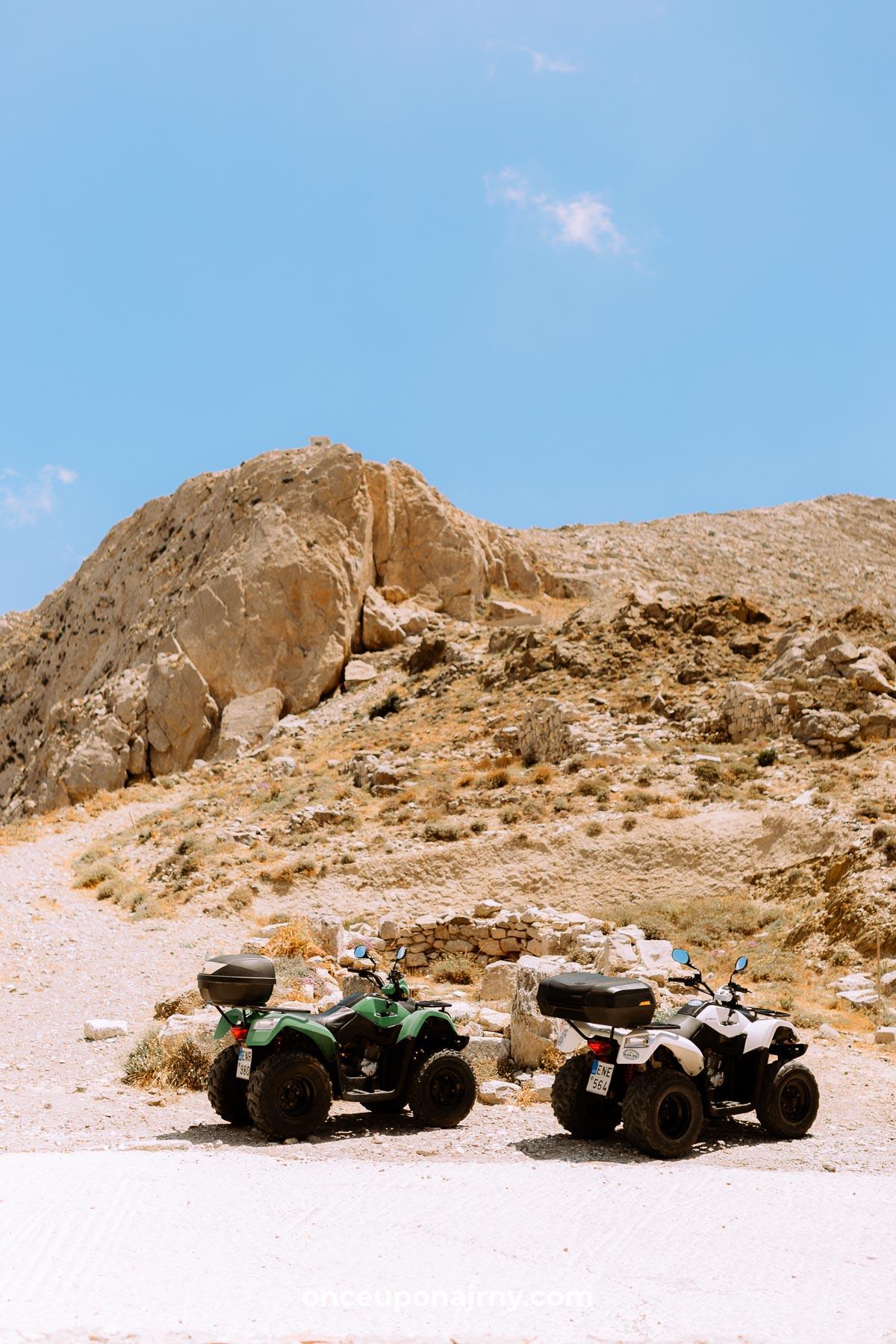 ATV rental Santorini