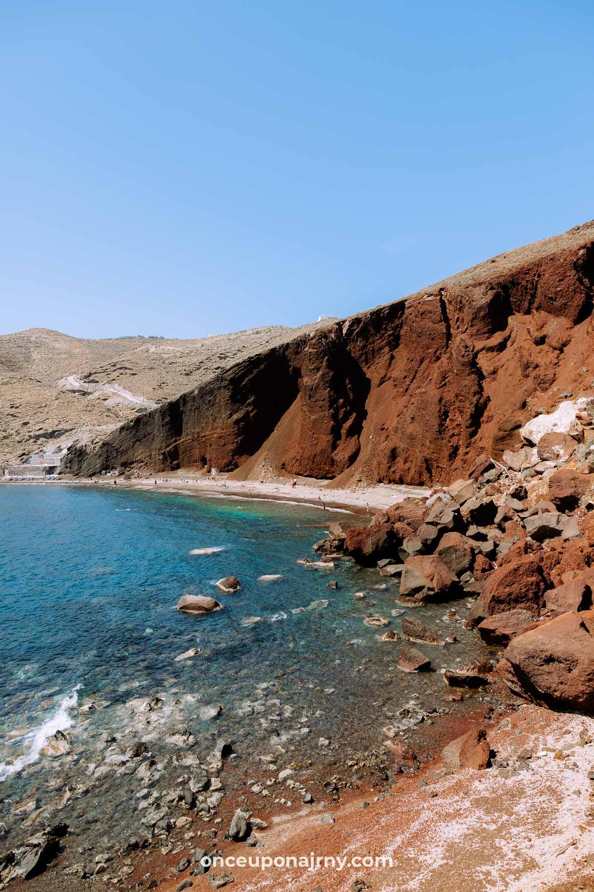 Akrotiri Red Beach Santorini
