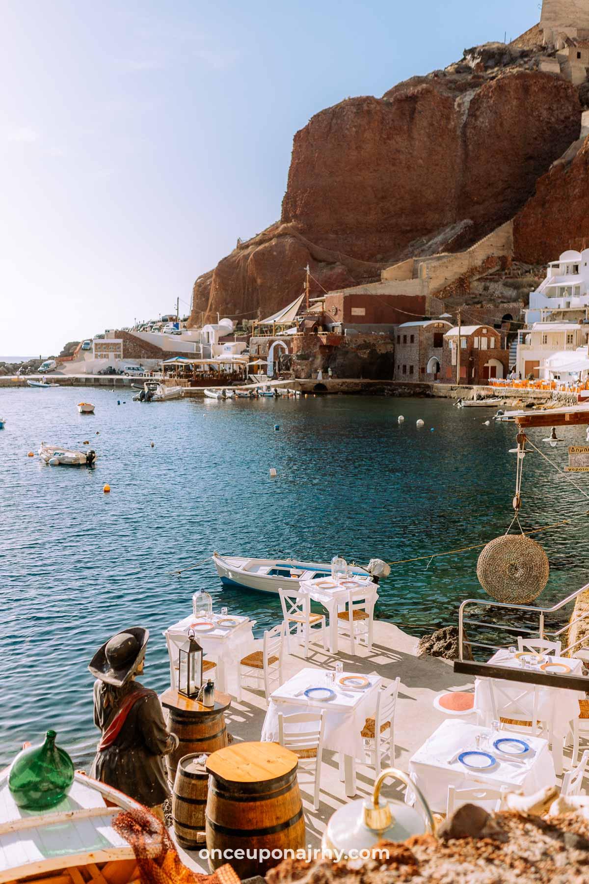 Ammoudi Bay, Santorini photo spot