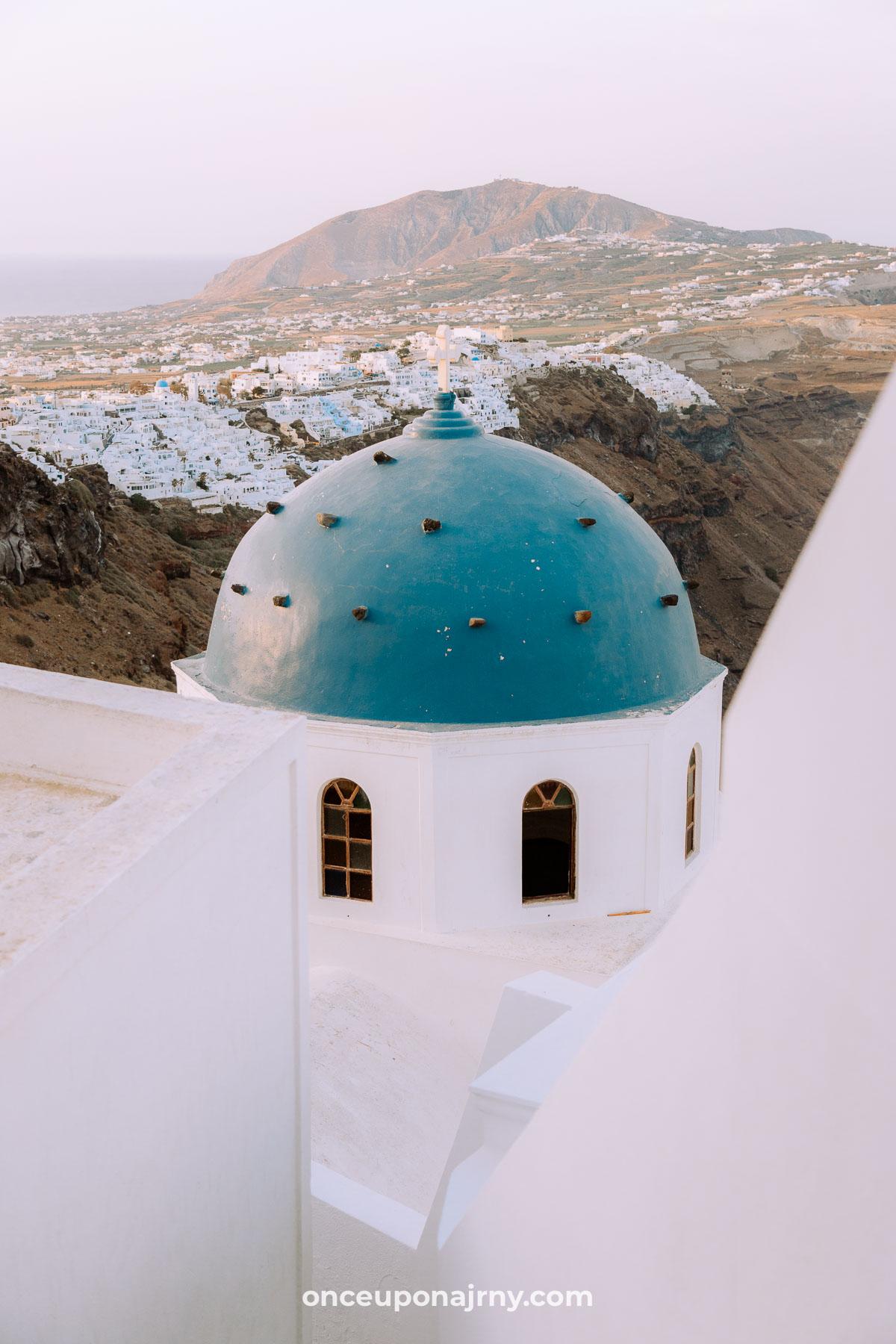 Anastasi Church Imerovigli Santorini photo spots