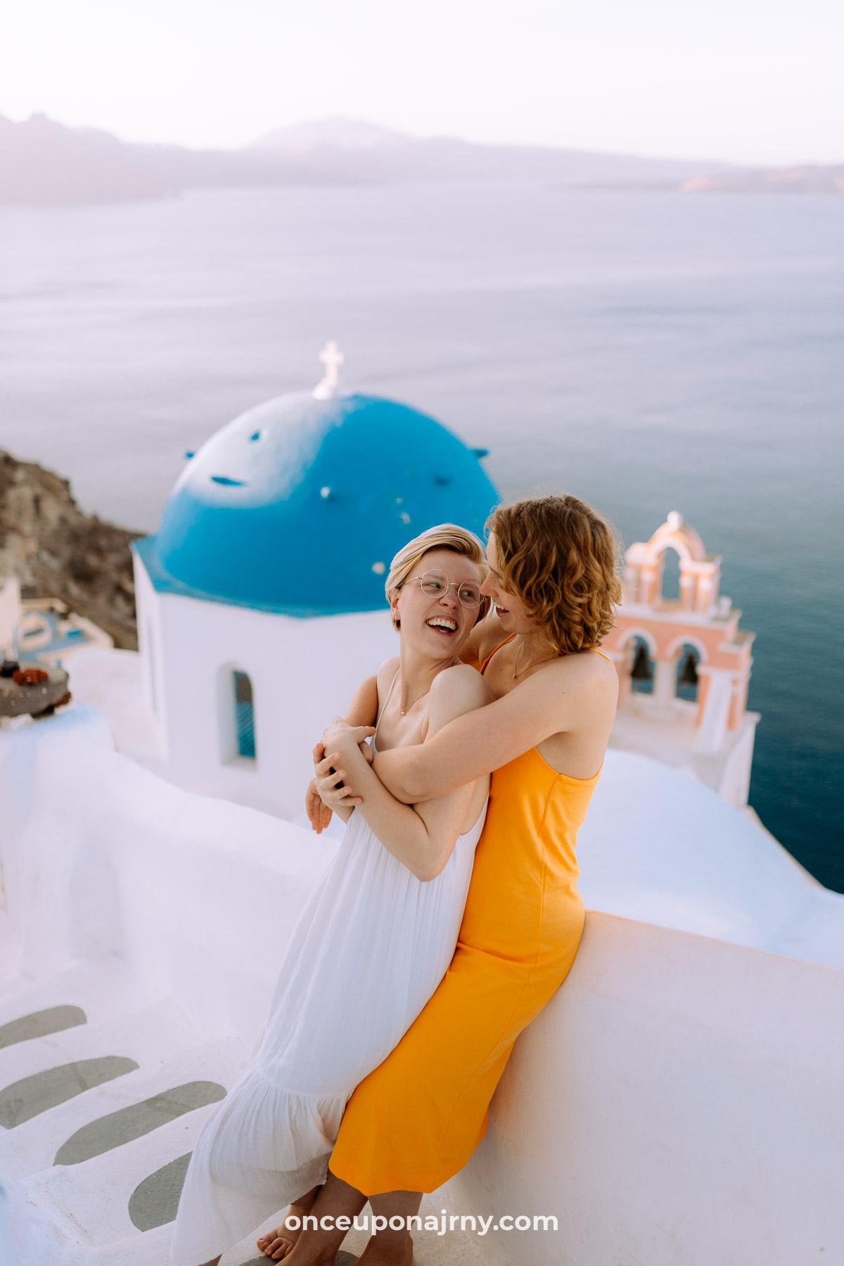 Blue Domes Oia Photo Spots Santorini