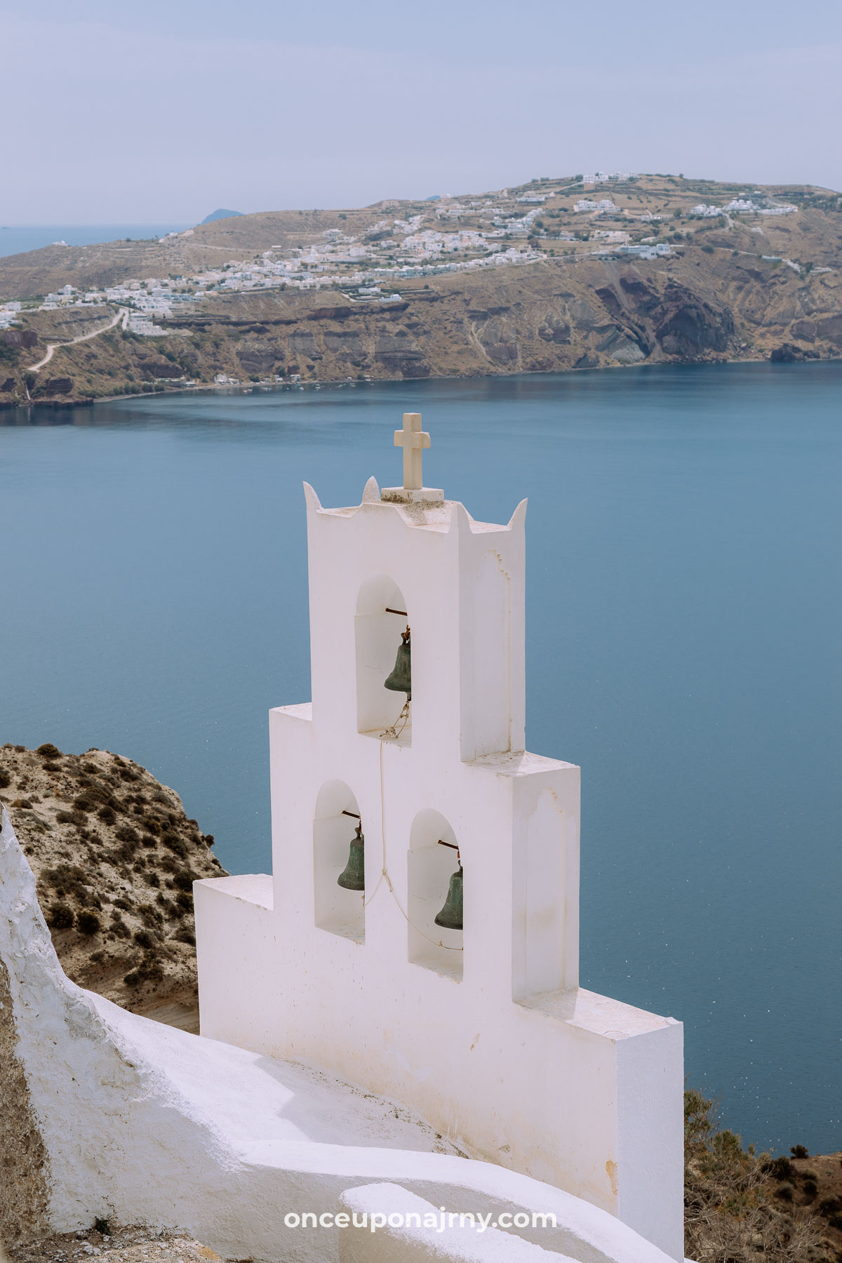 Church of Agios Nikolaos Bell Tower Megalochori, Santorini