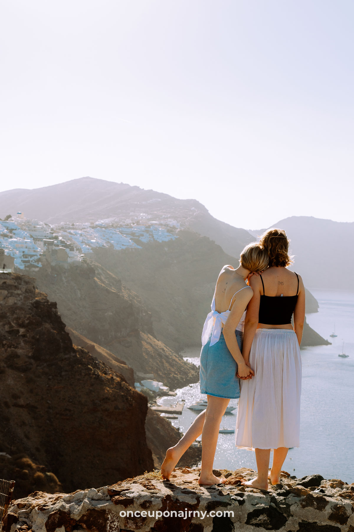Oia Castle Photo Spots Santorini