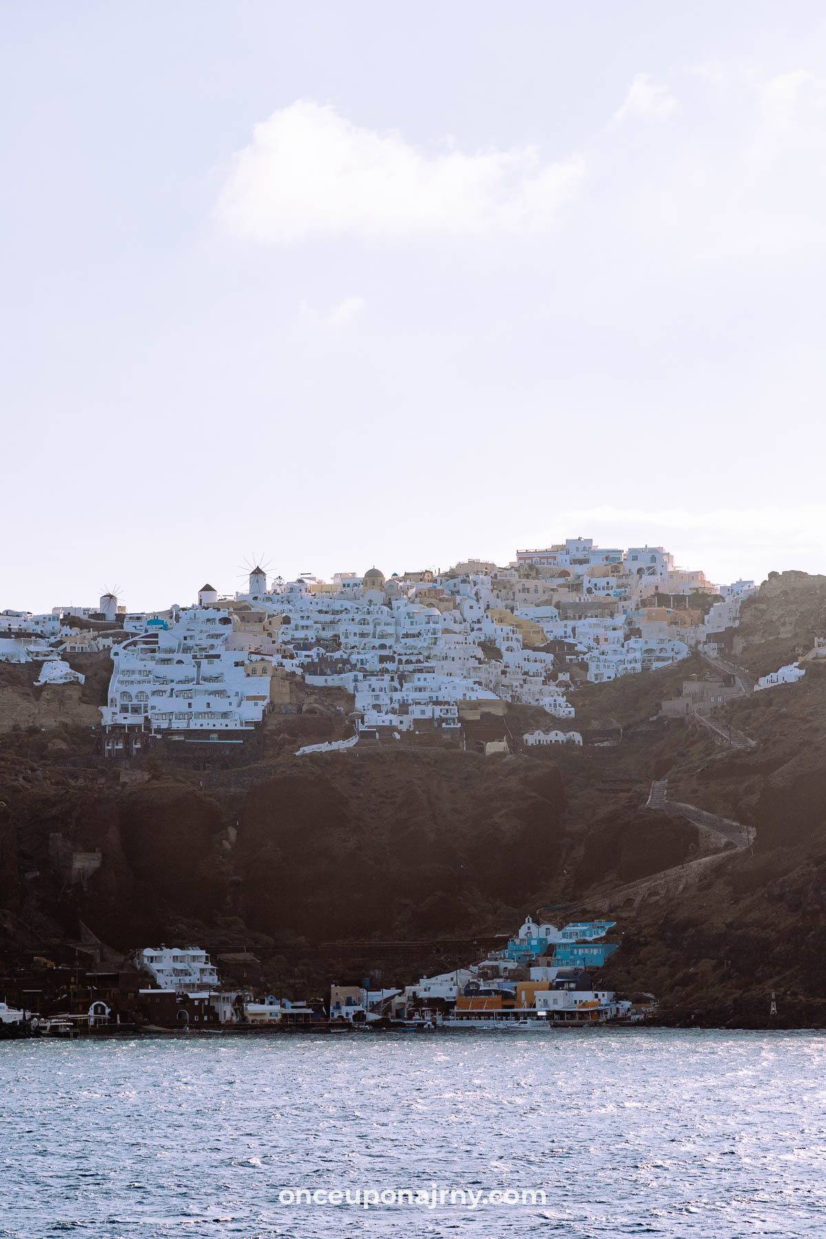 Oia Cruise Santorini Ferry