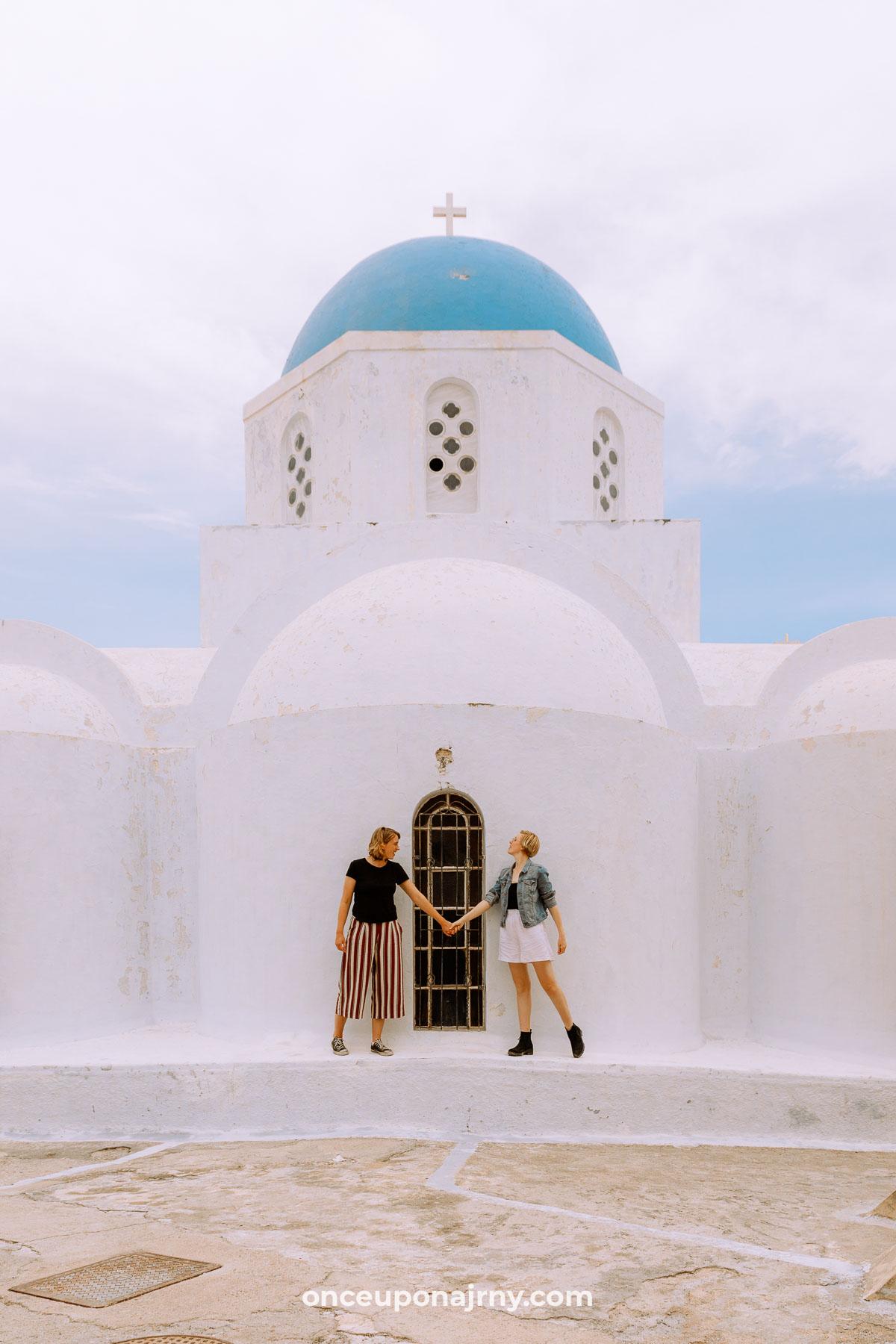 Theotokaki Church Pyrgos Photo Spots Santorini