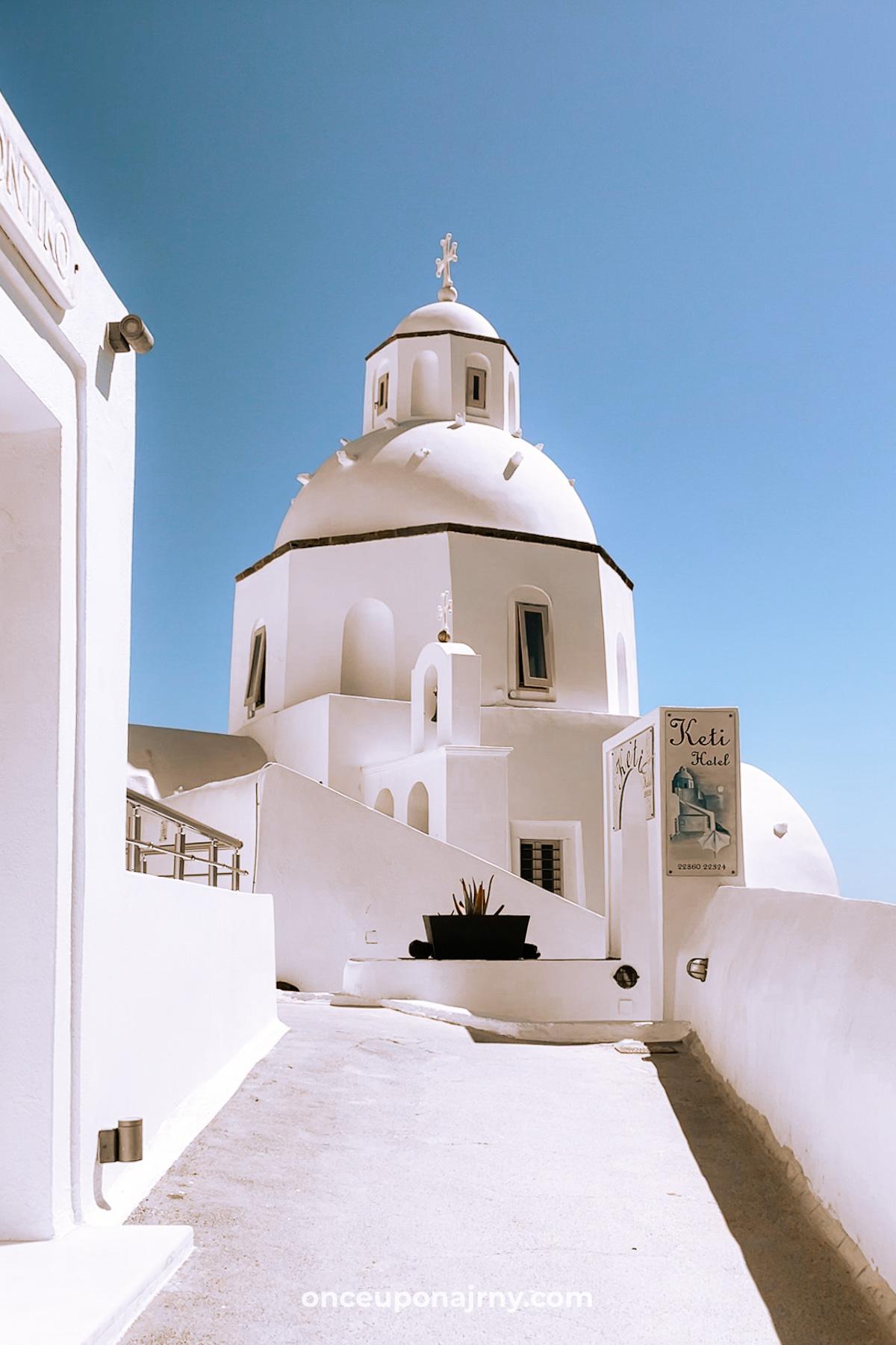 Saint Minas Holy Orthodox Church at Keti Hotel