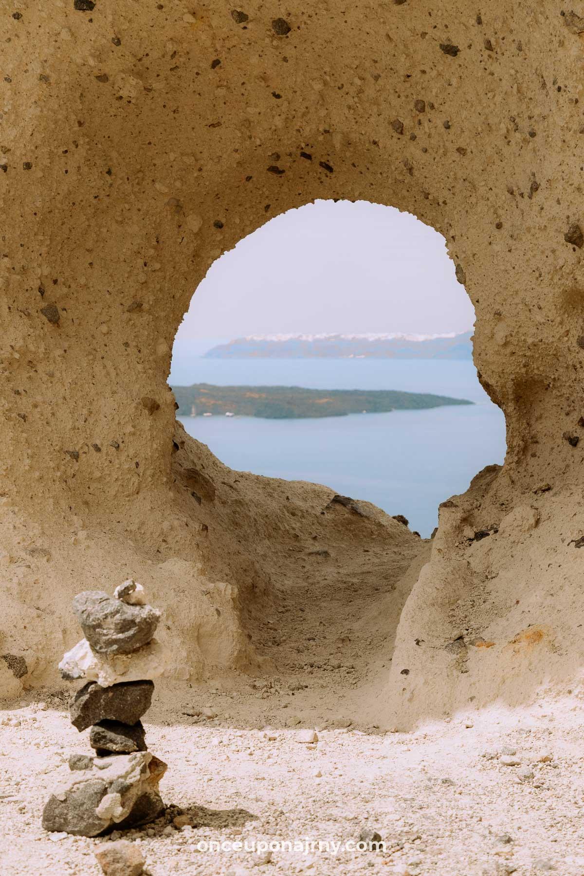 The Heart of Santorini photography