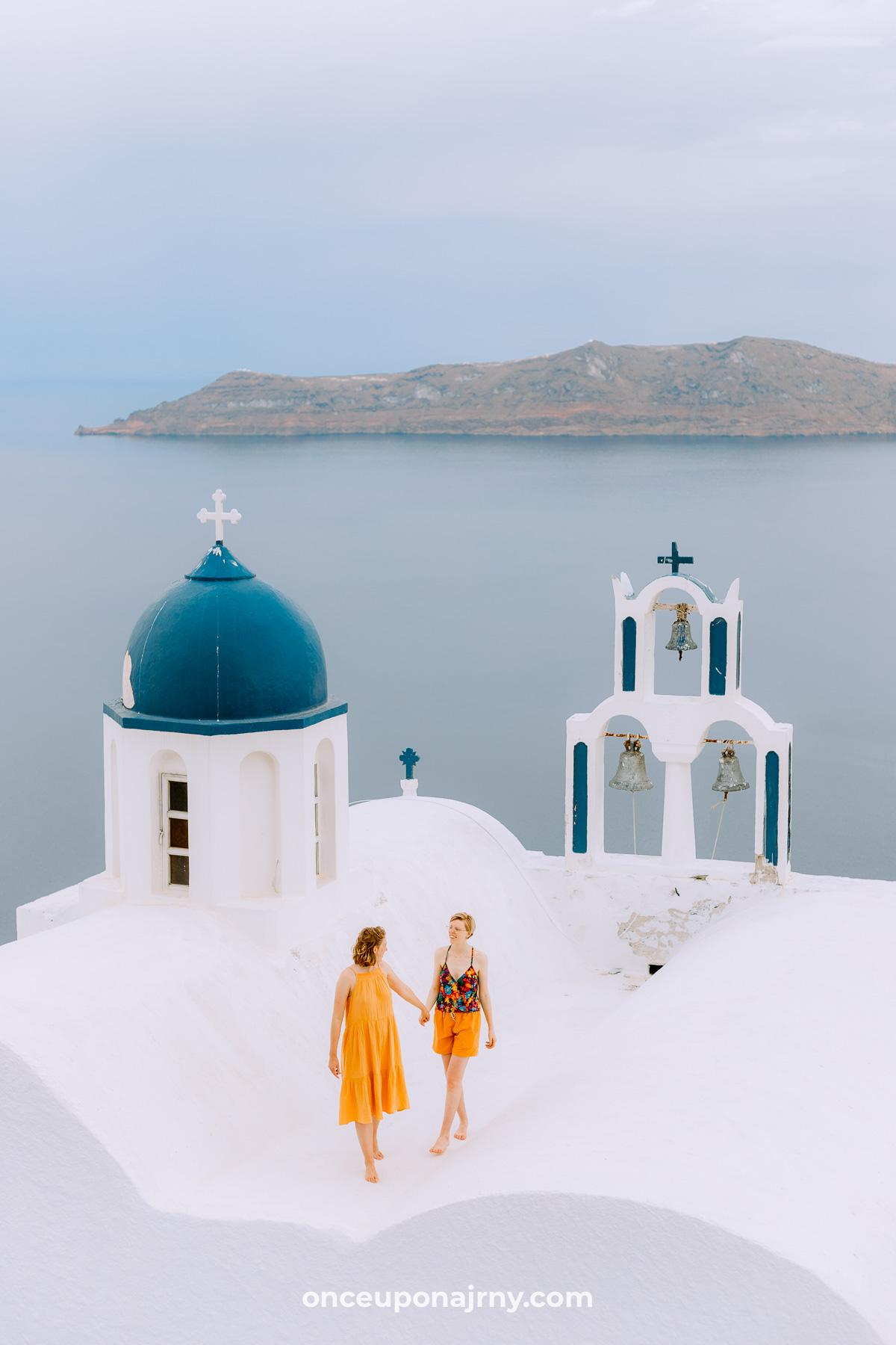 Theoskepasti Church Skaros Rock, Imerovigli photo spots