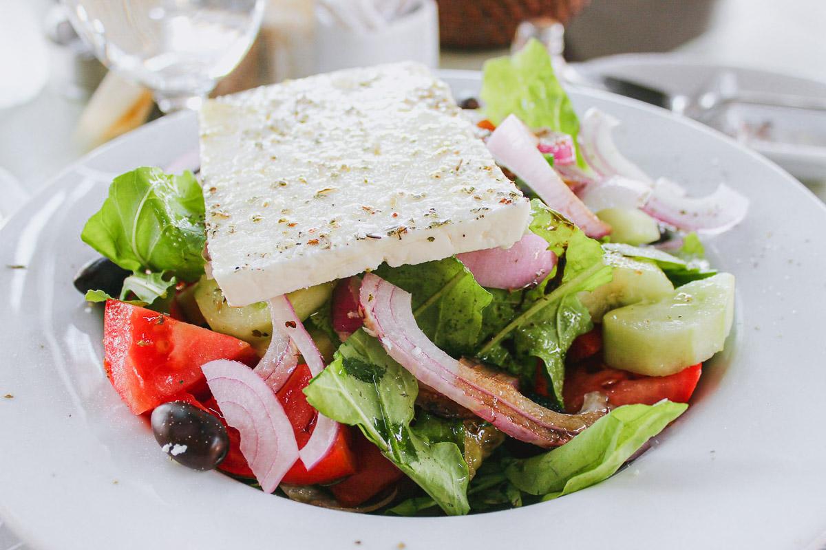 Choriatiki Greek Salad