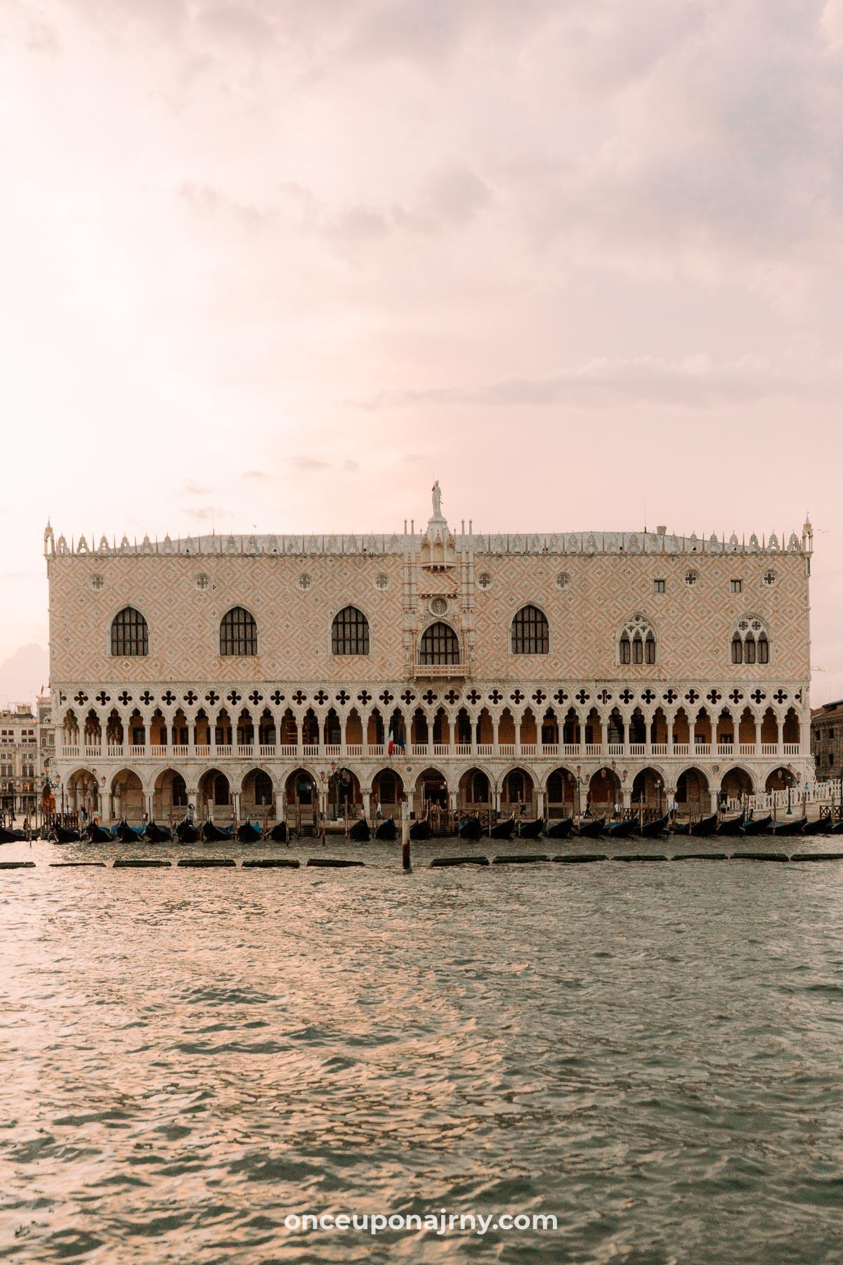 Doge's Palace Venice itinerary