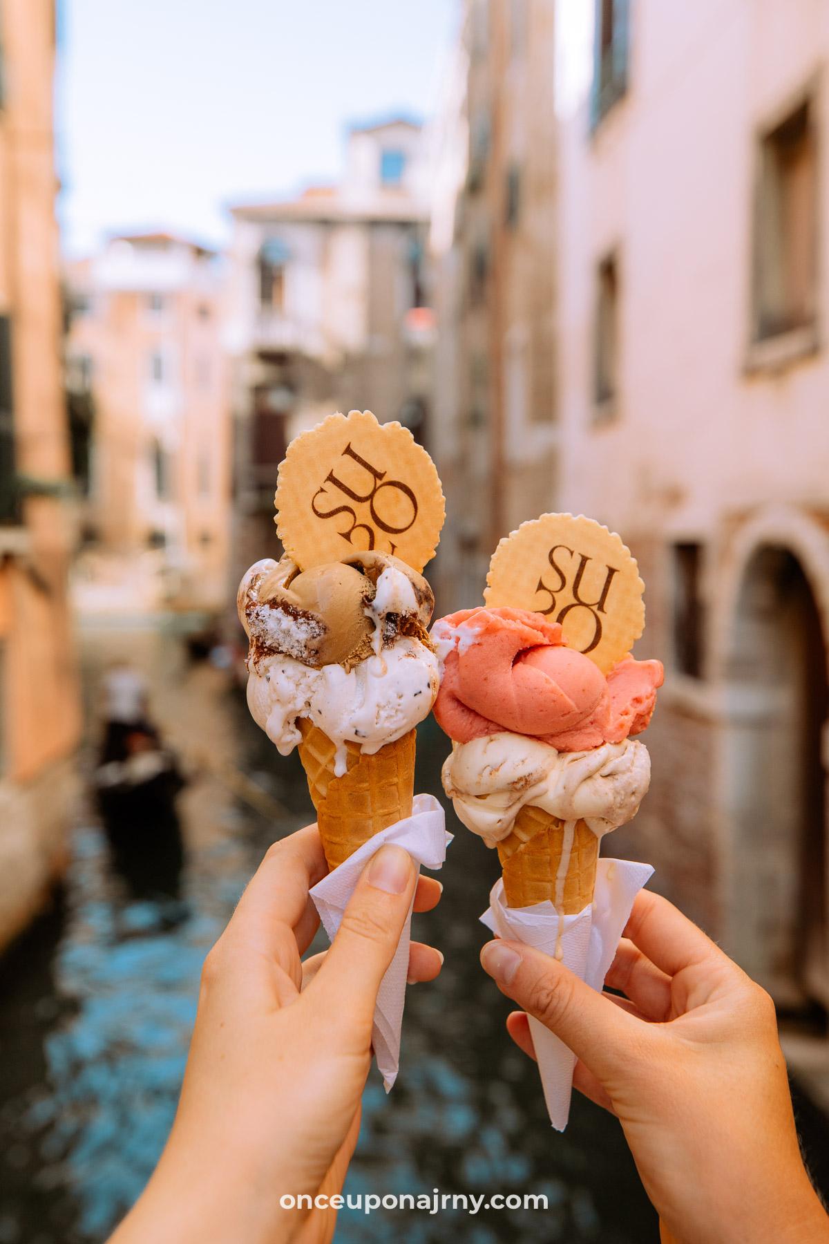 Gelatoteca Suso Venice ice cream