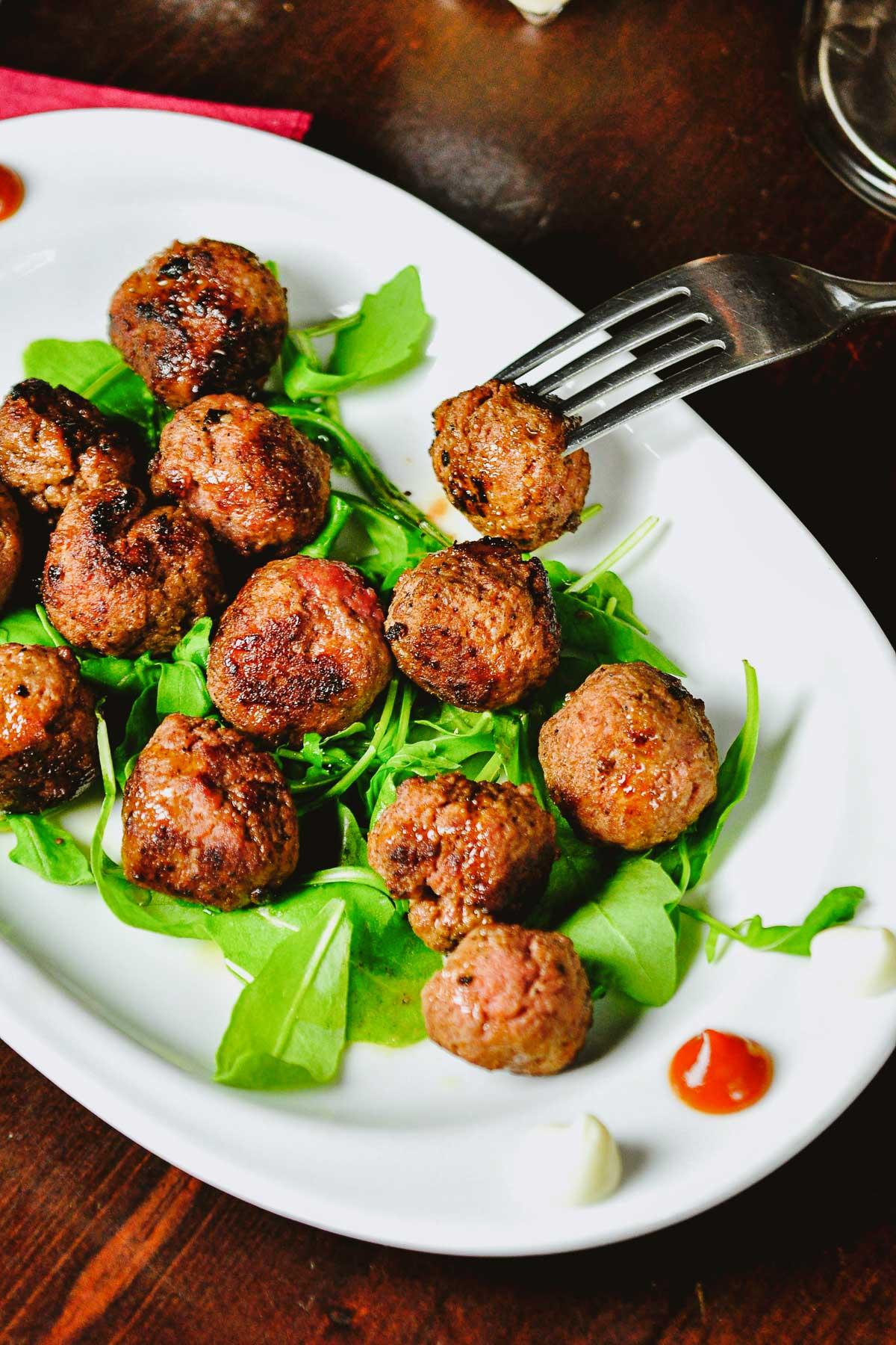 Keftethes Greek Meatballs