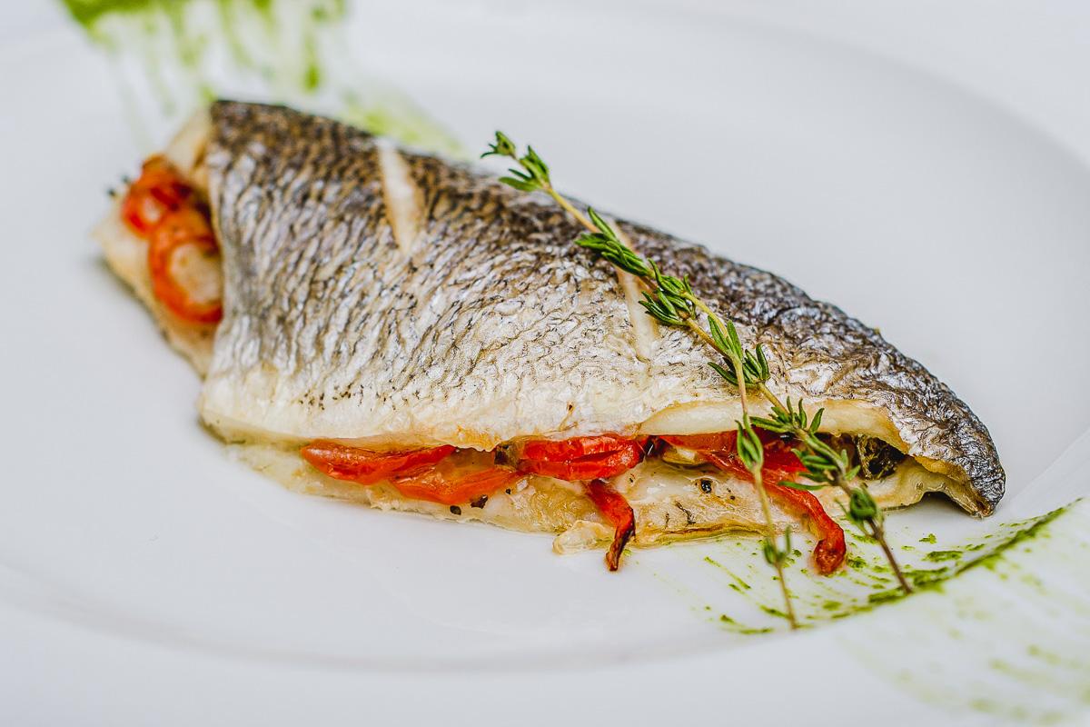 Lavraki Psito Grilled Sea Bass