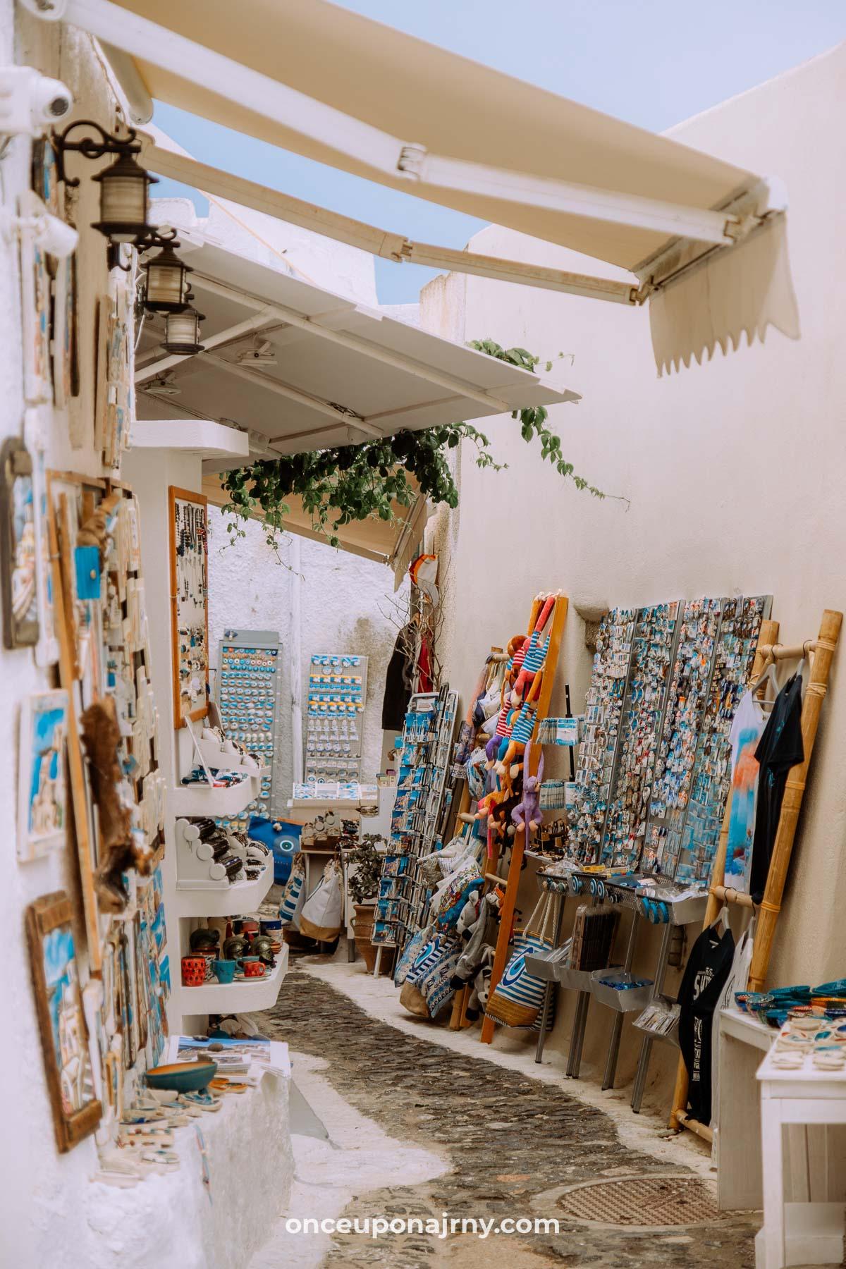 Pyrgos Santorini itinerary