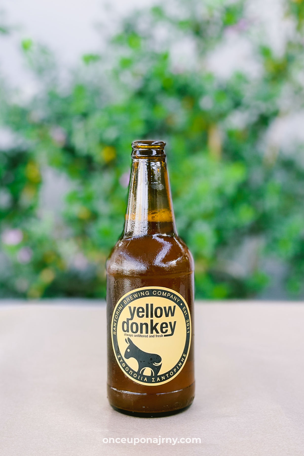 Santorini Donkey Beer