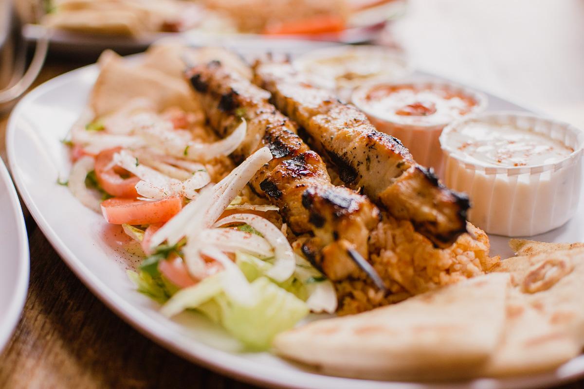Souvlaki Food in Greece