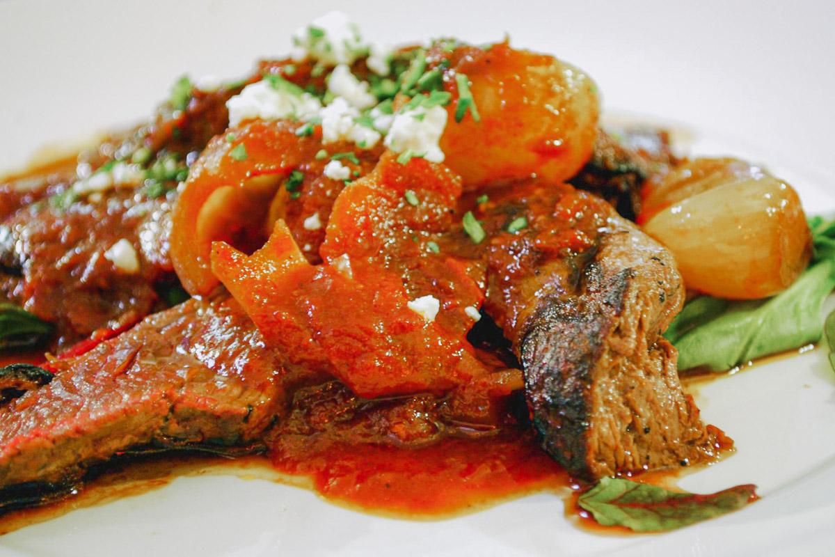 Stifado Beef Stew Greek dishes