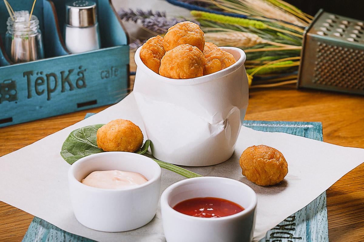 Tirokroketes Cheese Balls