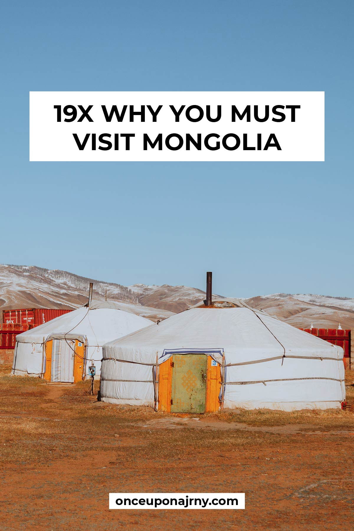 19x Why You Must Visit Mongolia