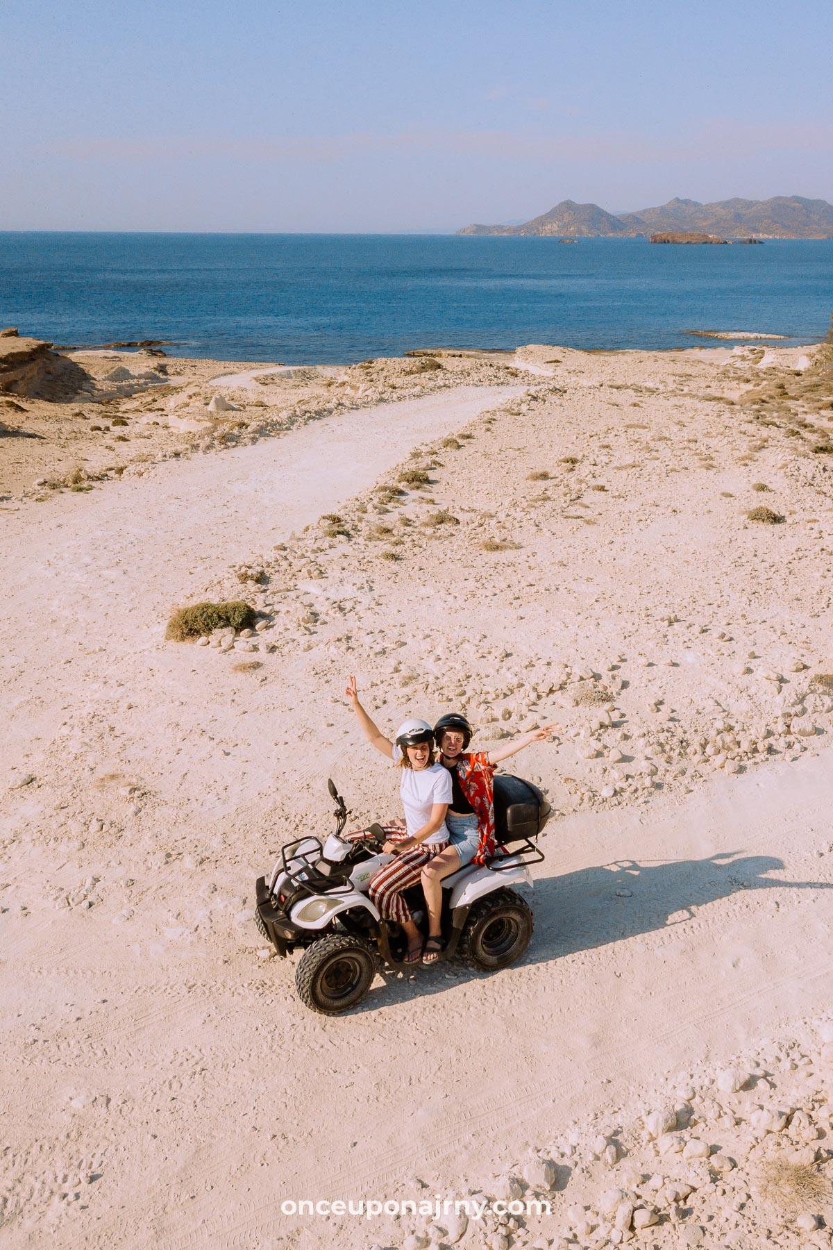 ATV rental Milos, Greece