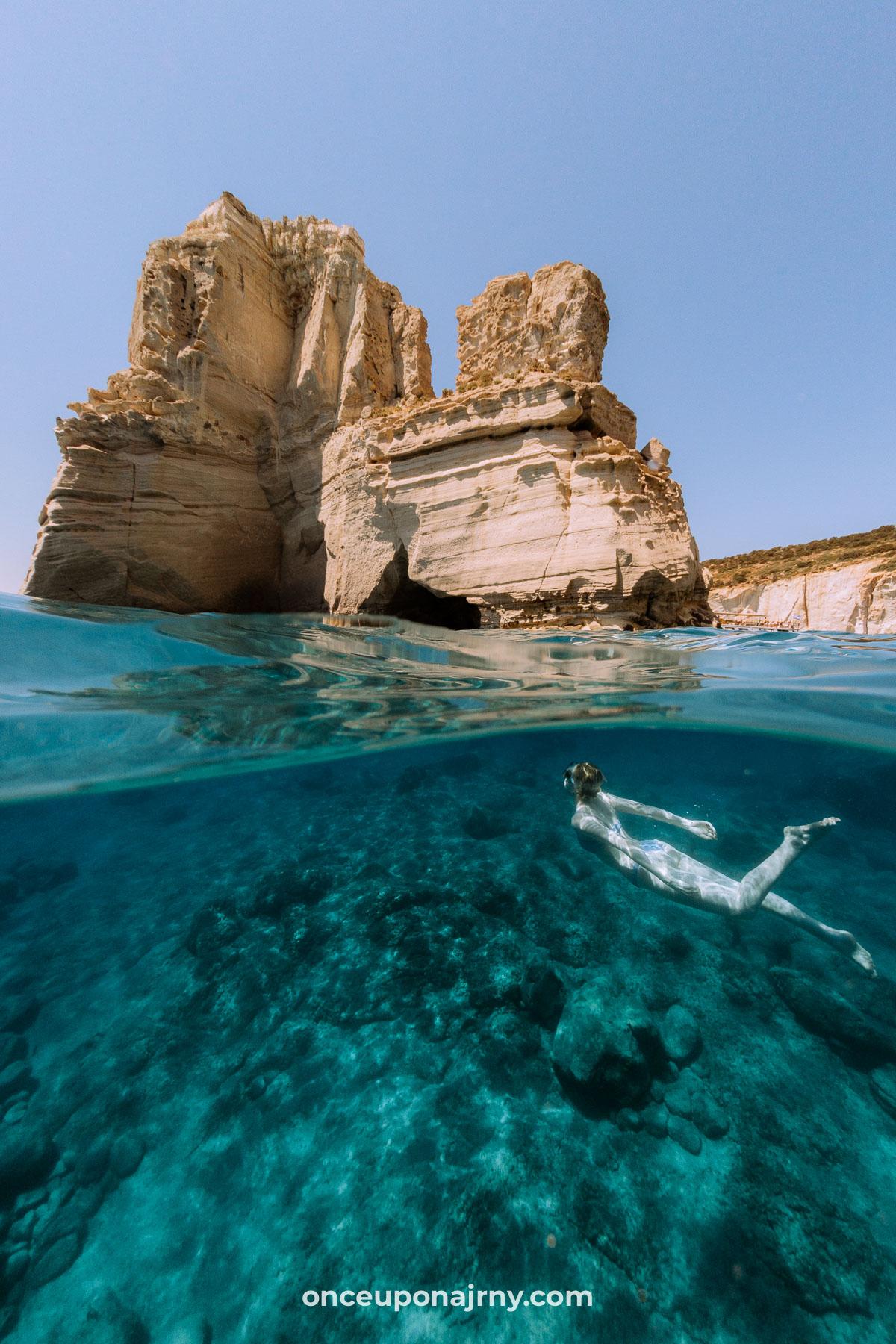 Kleftiko Beach Milos