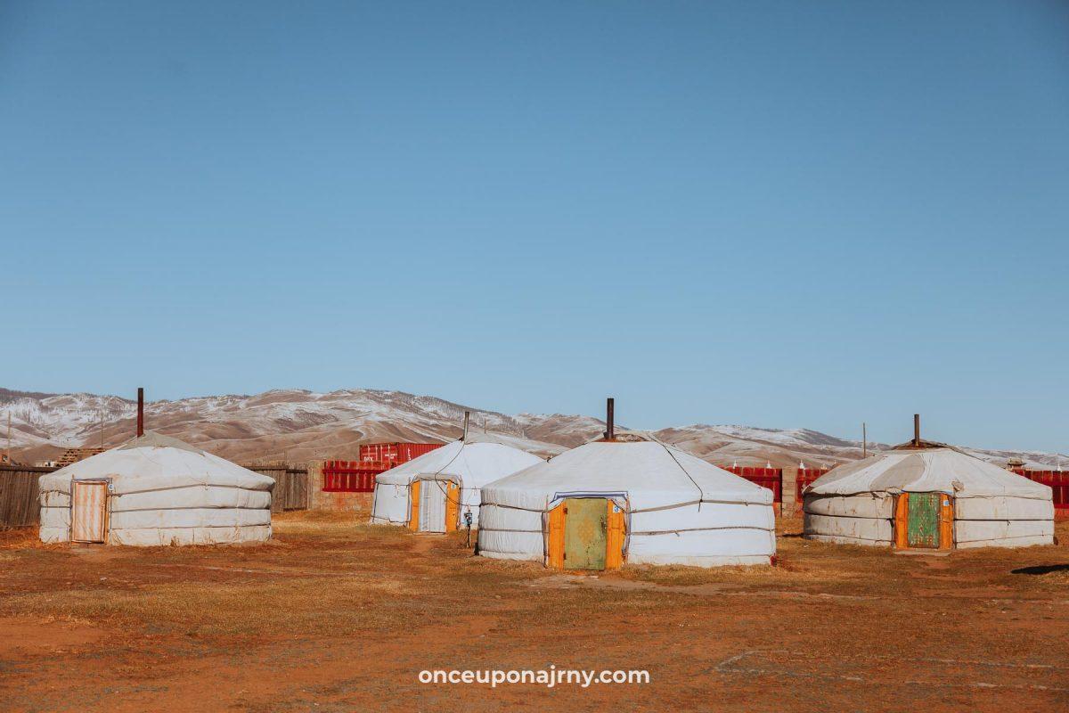 Mongolia travel yurts ger tents