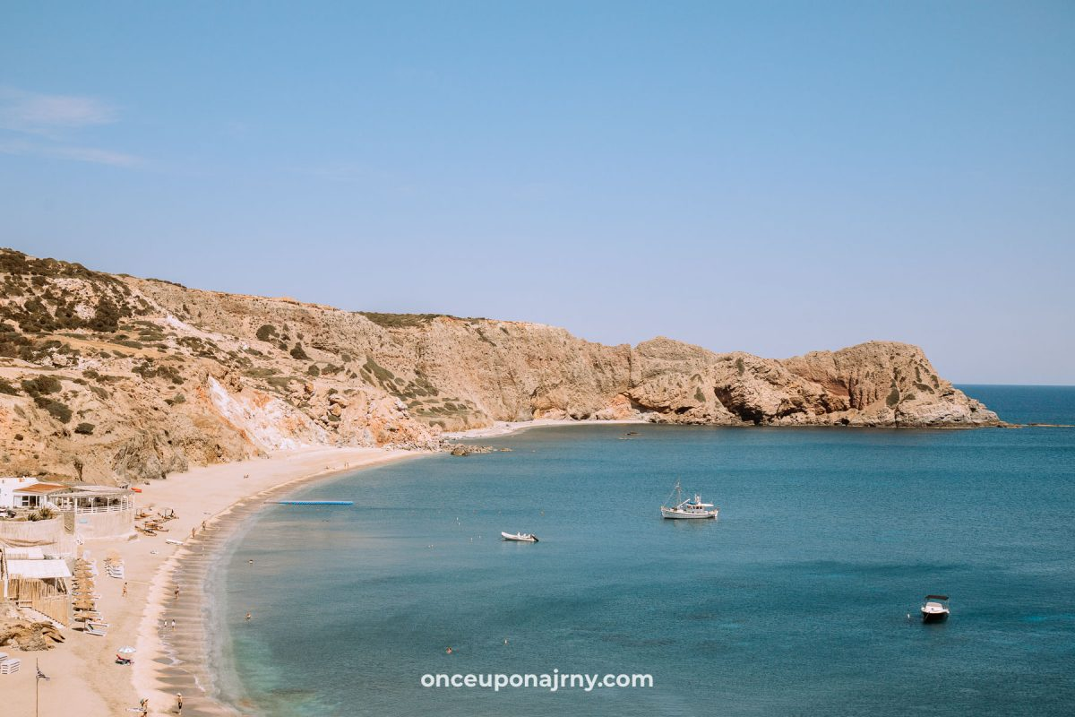 Paleochori Beach, Milos beaches