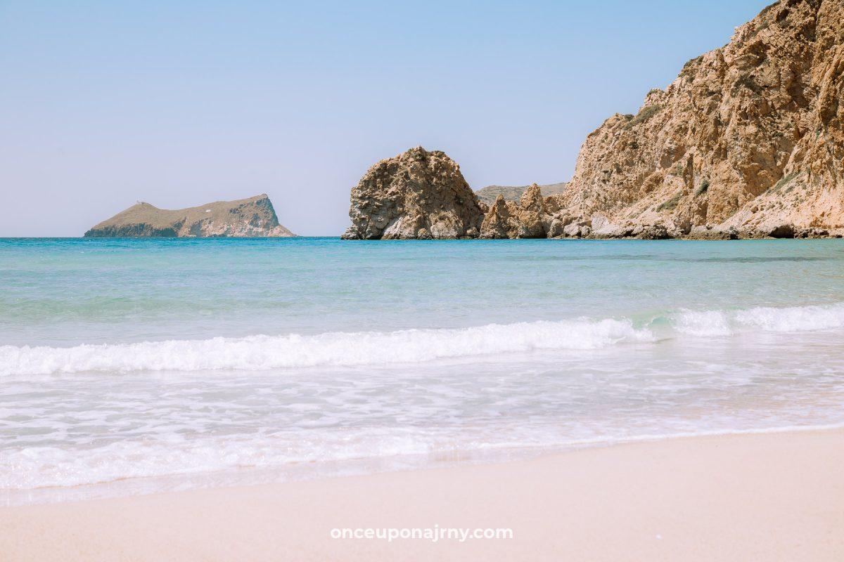 Paralia Plathiena Milos Beaches
