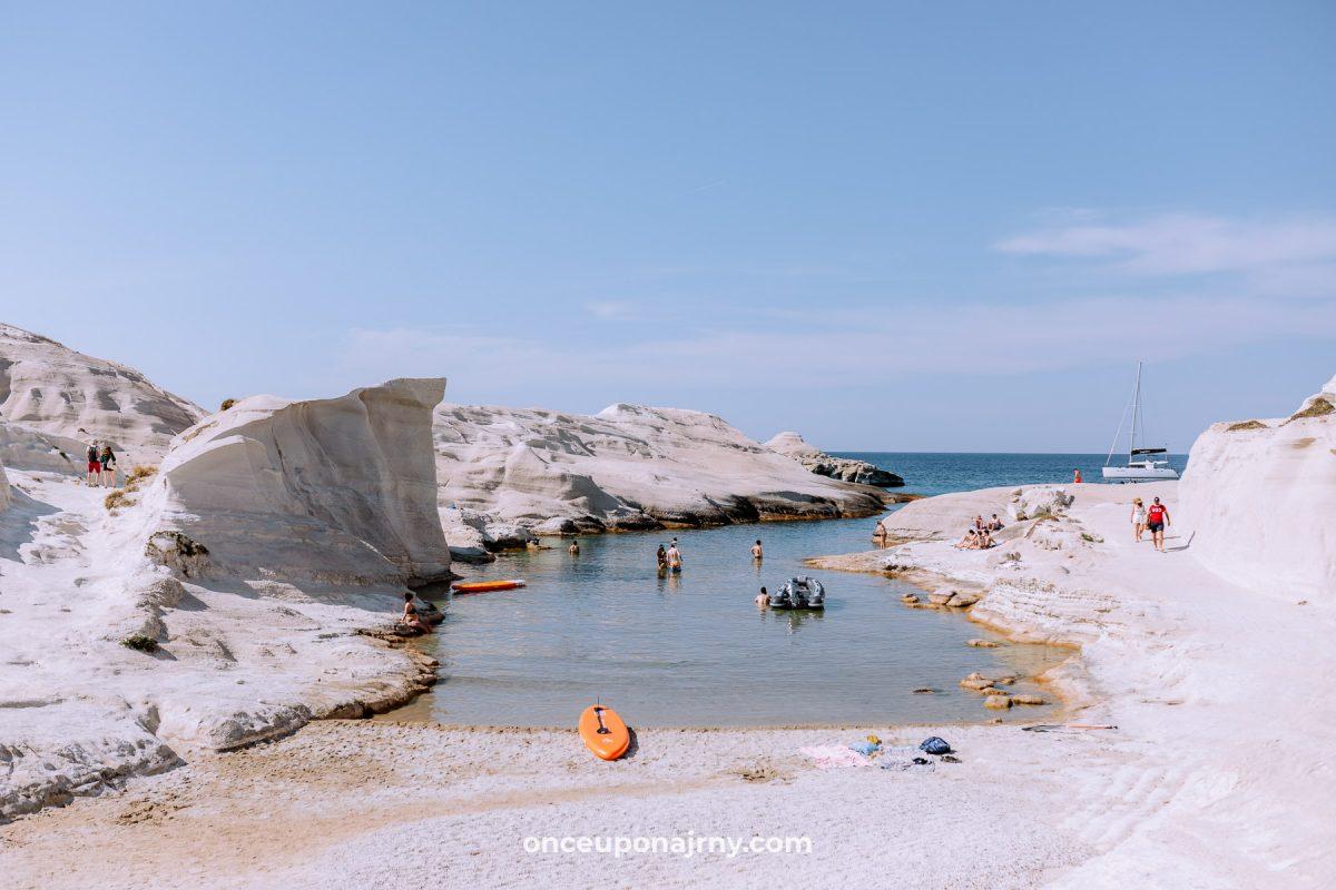 Sarakiniko Milos Beach