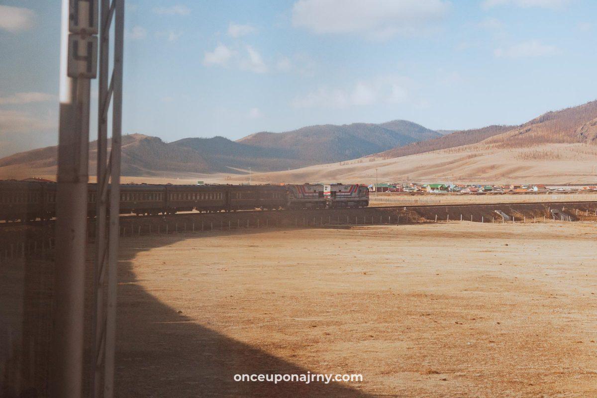 Trans Mongolian Railway Trans Siberian Railway