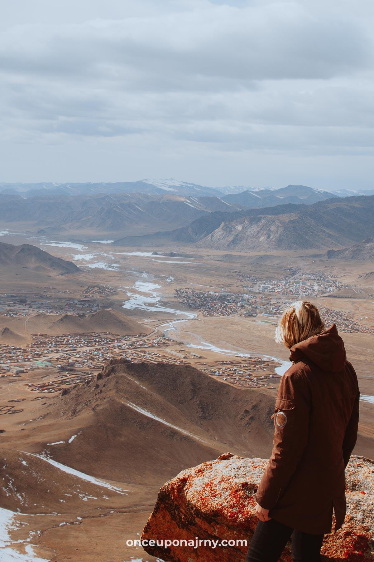 West Mongolia hike