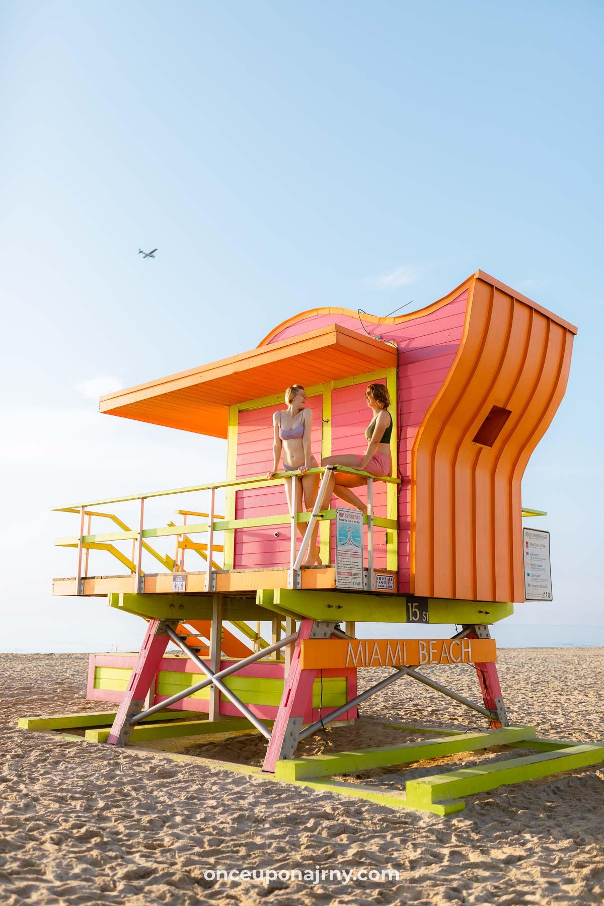 Gay Area Miami South Beach Lifeguard Tower