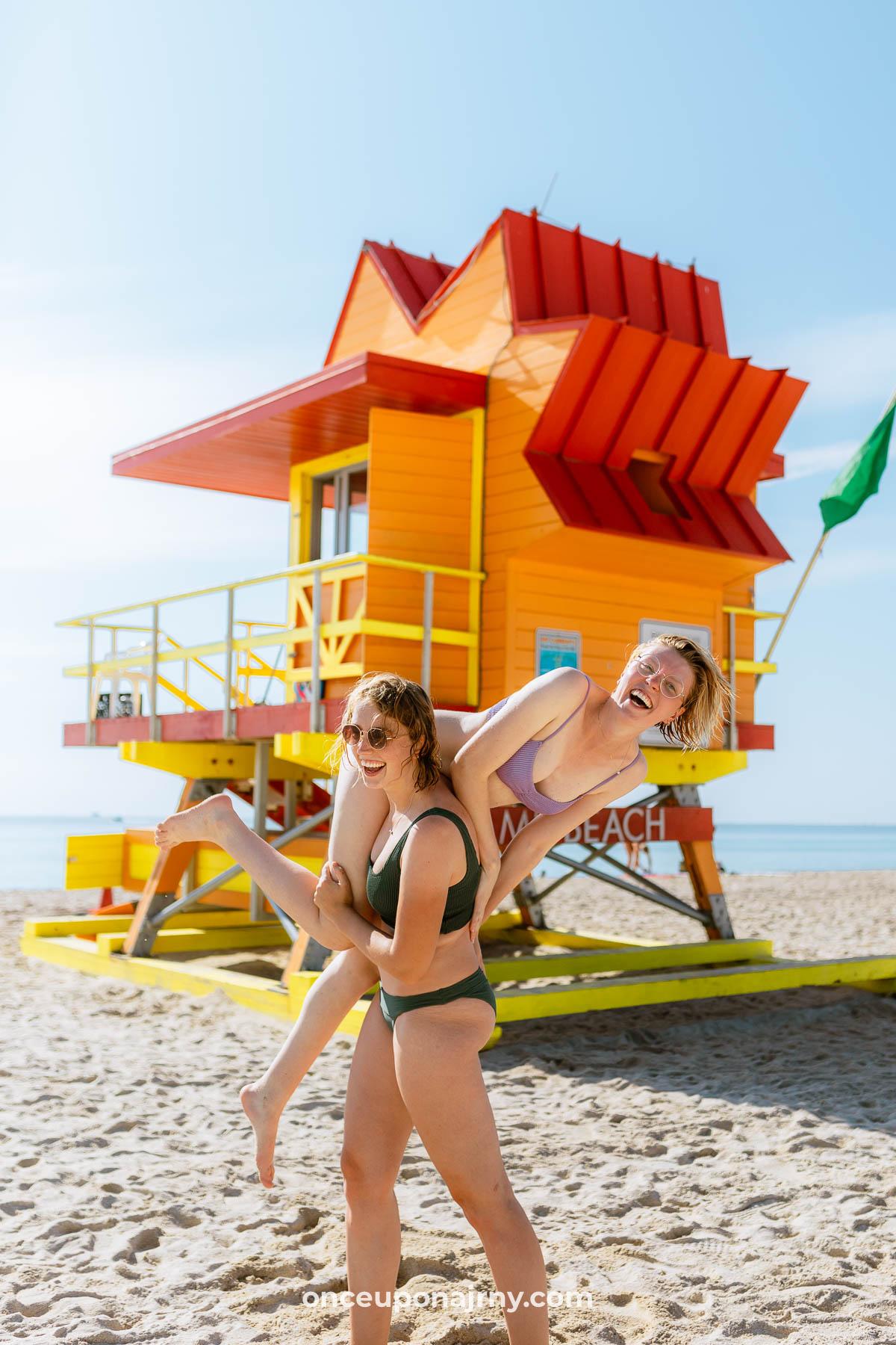 South Beach Lifeguard Tower Miami